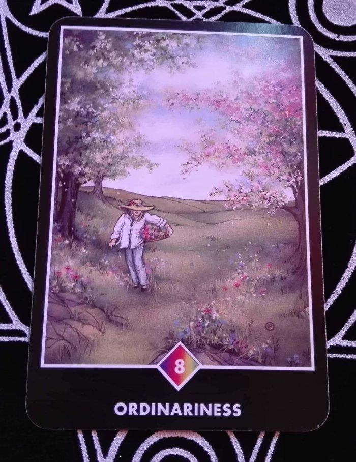 OSHO禅タロットのORDINARINESS(普通であること)
