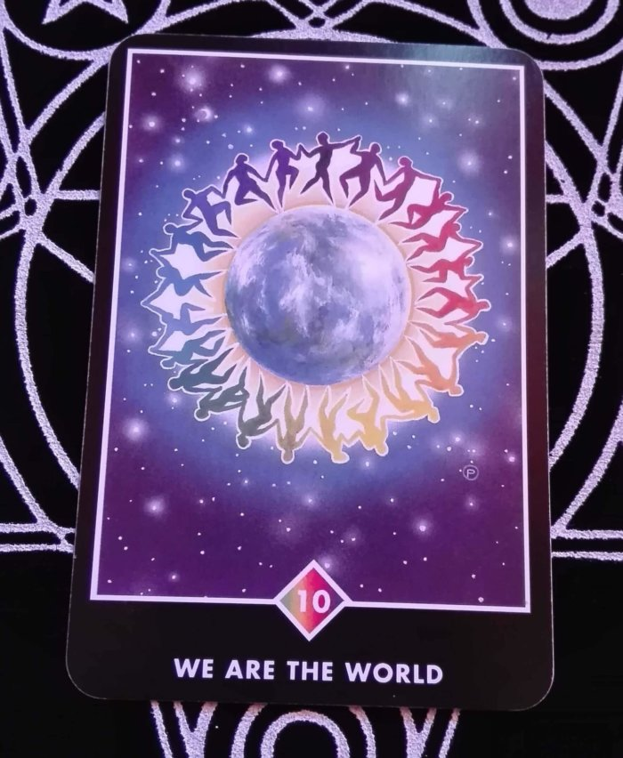 OSHO禅タロットのWE ARE THE WORLD(ウィーアーザワールド)