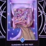 OSHO禅タロットのCLINGING TO THE PAST(過去への執着)