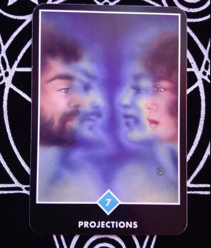 OSHO禅タロットのPROJECTIONS(投影)