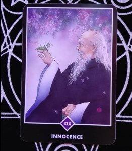 OSHO禅タロットのINNOCENCE(無垢)