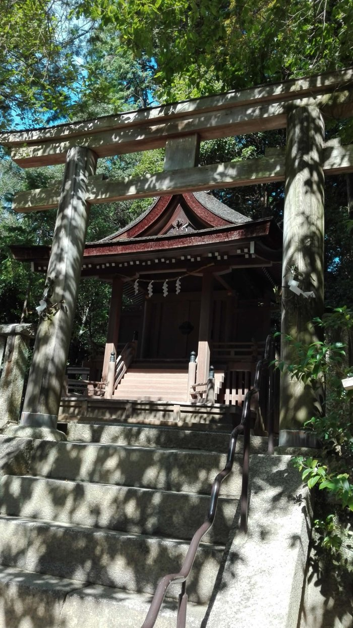 石上神宮の摂社・天神社の写真。