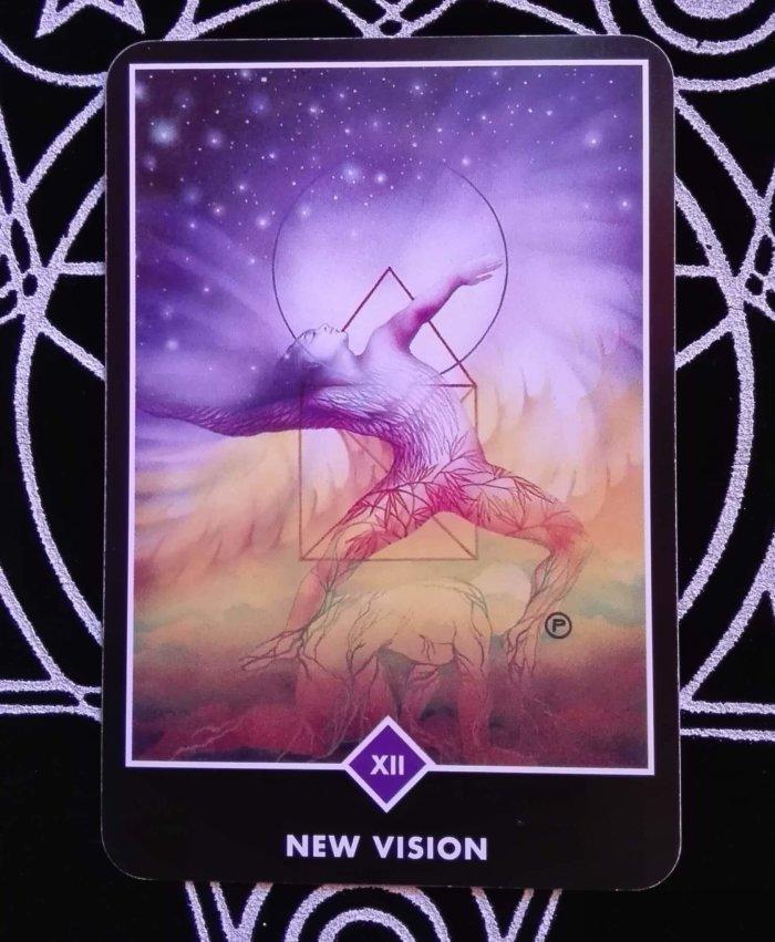 OSHO禅タロットのNEW VISION(新しいビジョン)
