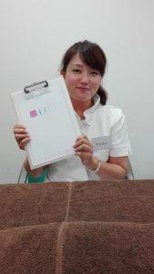 クローバー手作り市の下井由美子アリソンさん