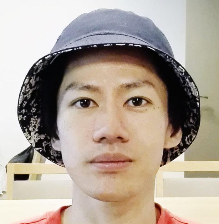 帽子のまーし。の正面向き顔写真