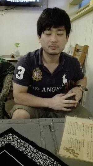 タロログの土屋周太郎さん考え中10