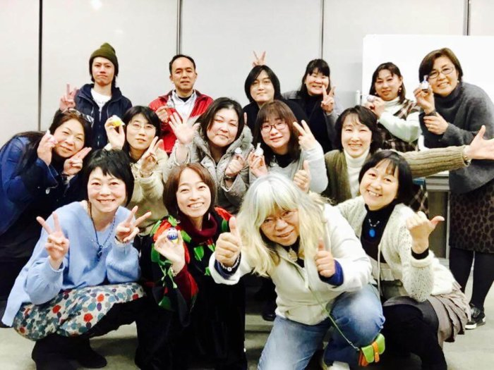 2017年1月23日うけうけ祭り終了の記念写真