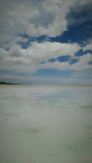 傷心旅行で行ったウユニ塩湖の写真