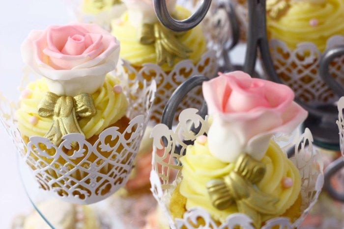 甘そうなカップケーキ