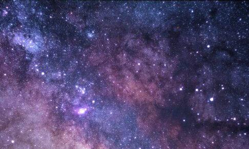 銀河の写真